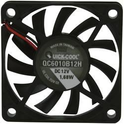 Axiální ventilátor QuickCool QC6010B12H QC6010B12H, 12 V/DC, 27.9 dB, (d x š x v) 60 x 60 x 10 mm