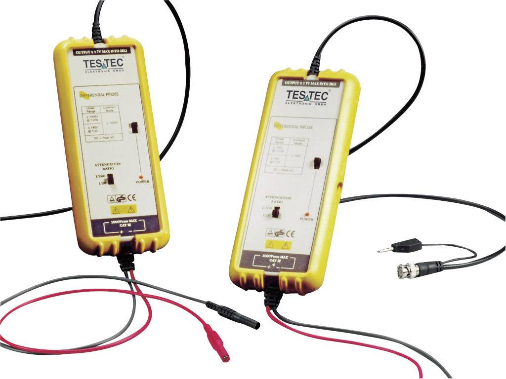 Diferenciálna sonda Testec TT-SI 9001 15101, 1400 V, 25 MHz