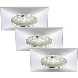 Briloner 7205-038 LED vestavné koupelnové svítidlo sada 3 ks 15 W teplá bílá chrom
