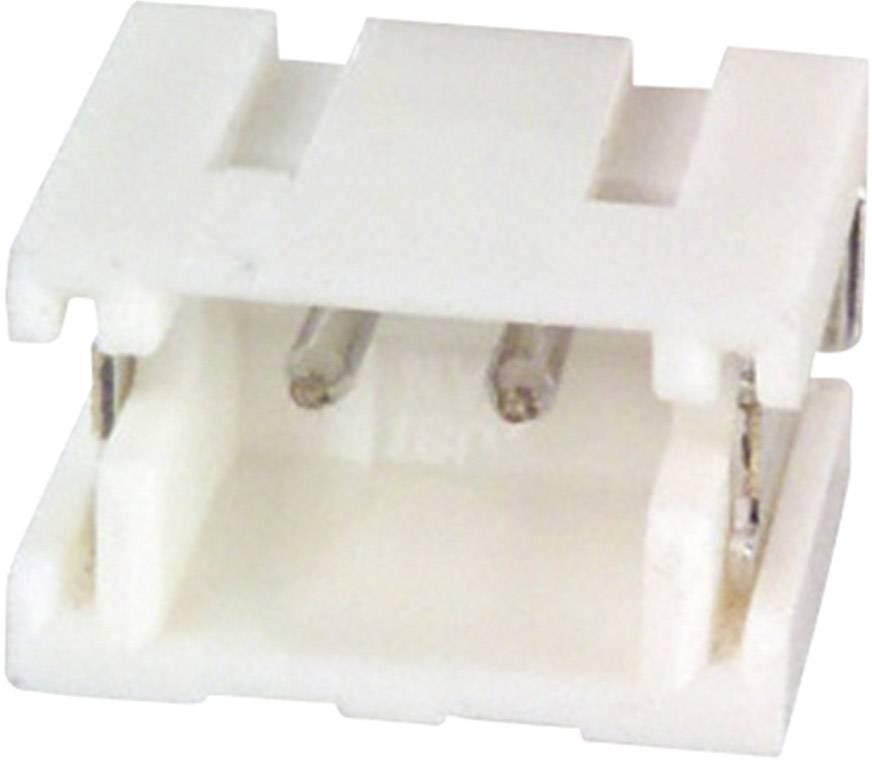 Vstavaná pinová lišta (precízna) JST S2B-ZR-SM4A-TF (LF)(SN) S2B-ZR-SM4A-TF (LF)(SN), 3.5 mm, pólů 2, rozteč 1.50 mm, 1 ks
