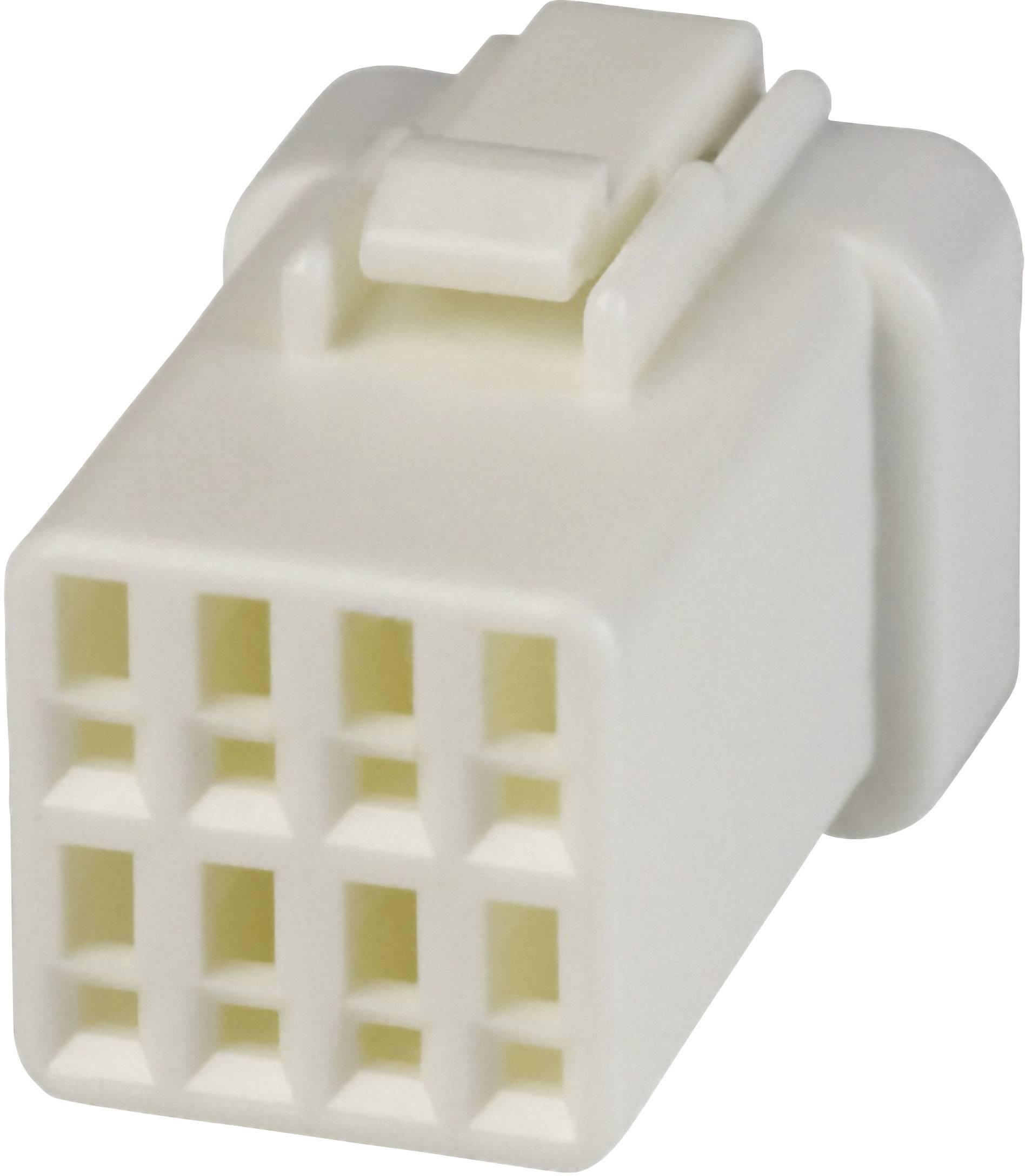 Zásuvkový konektor na kabel JST 08R-JWPF-VSLE-D 08R-JWPF-VSLE-D, 10.7 mm, pólů 8, 1 ks