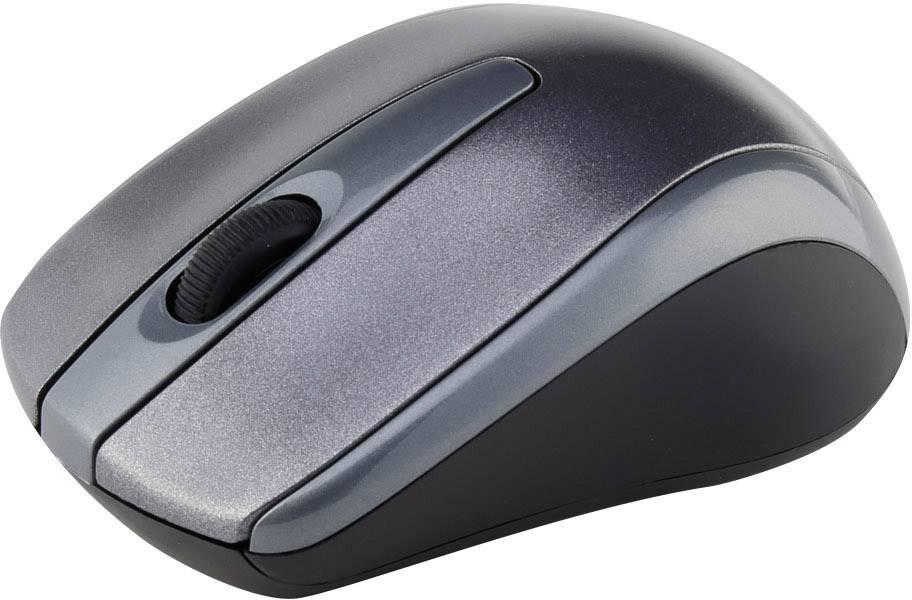 Bezdrôtová optická myš Renkforce SM-305AG, sivá