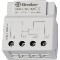Spínací relé Finder 13.31.9.024.4300, 1 spínací kontakt, 24 V/DC, 12 A