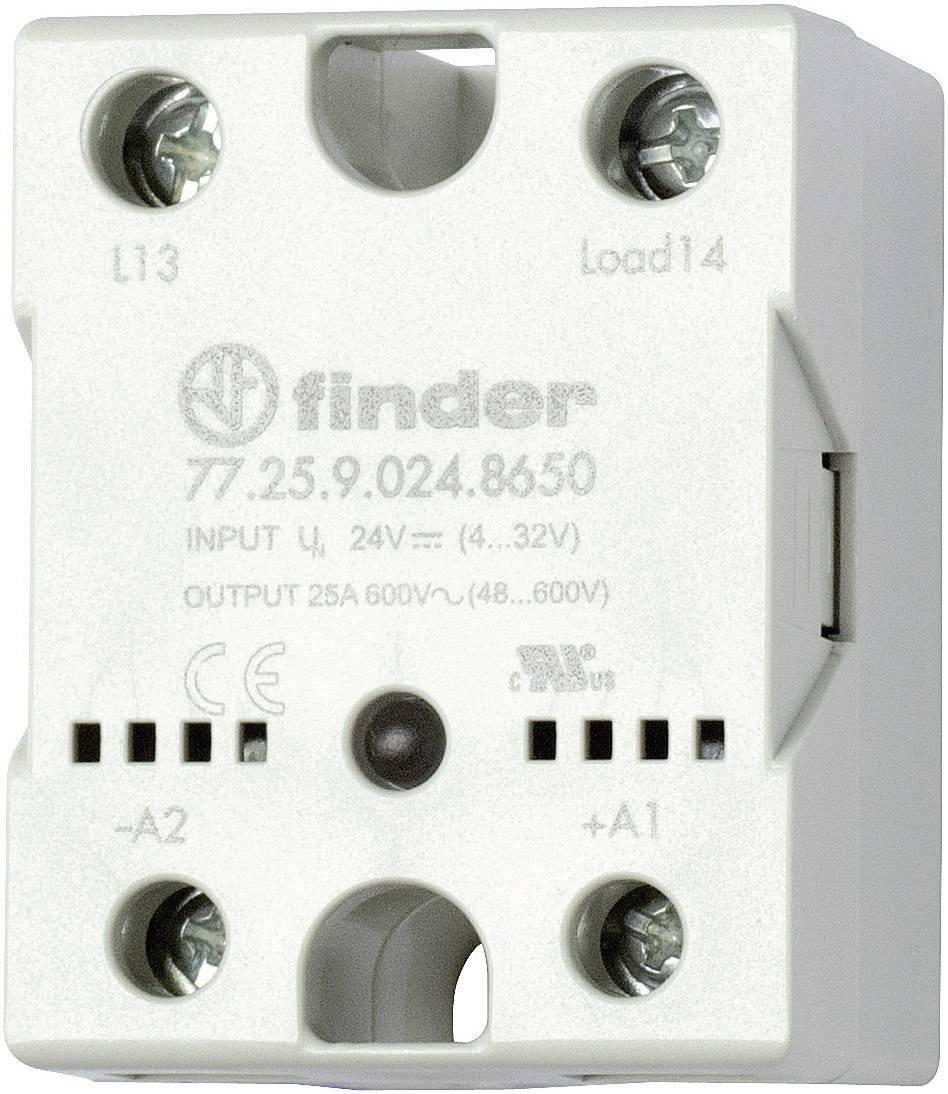 Polovodičové relé Finder 77.25.8.230.8250 77.25.8.230.8250, 25 A, 1 ks