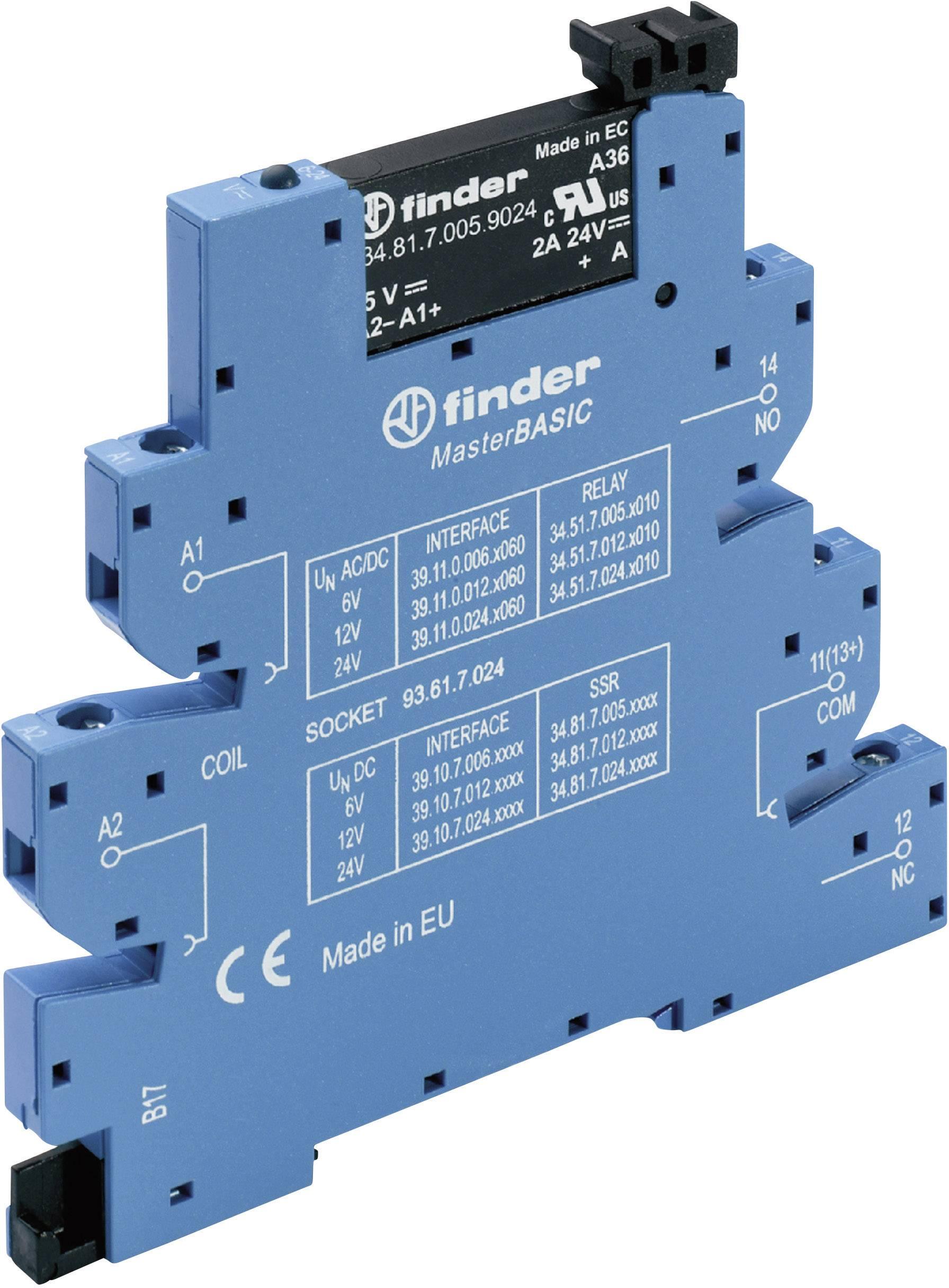 Polovodičové relé Finder 39.10.8.230.8240 39.10.8.230.8240, 2 A, 1 ks