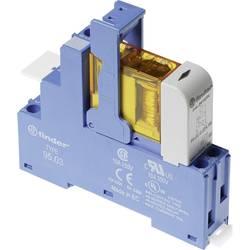 Vazební relé pro lištu DIN Finder 48.31.8.024.0060, 24 V/AC, 10 A, 1 přepínací kontakt