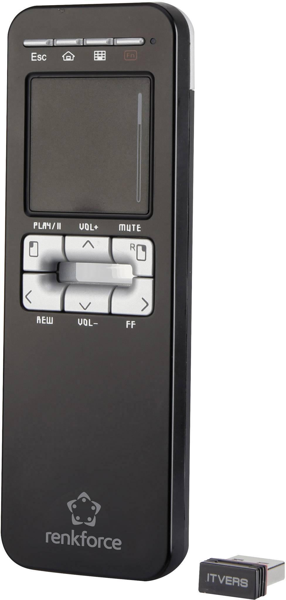 Diaľkové ovládanie PC Renkforce Touch Air R01