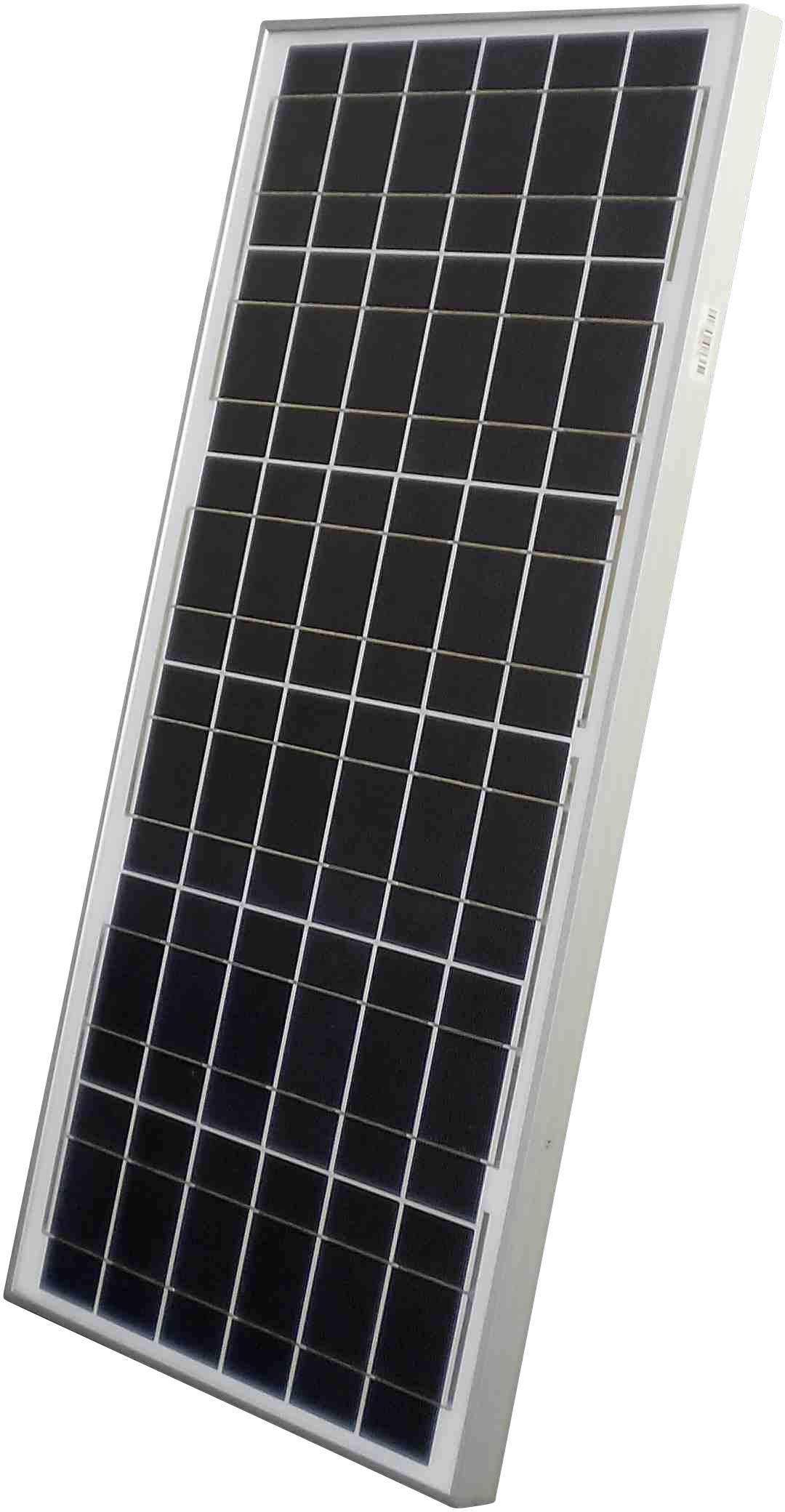 Monokrystalický solární panel Sunset AS 50 C, 2750 mA, 50 Wp, 12 V