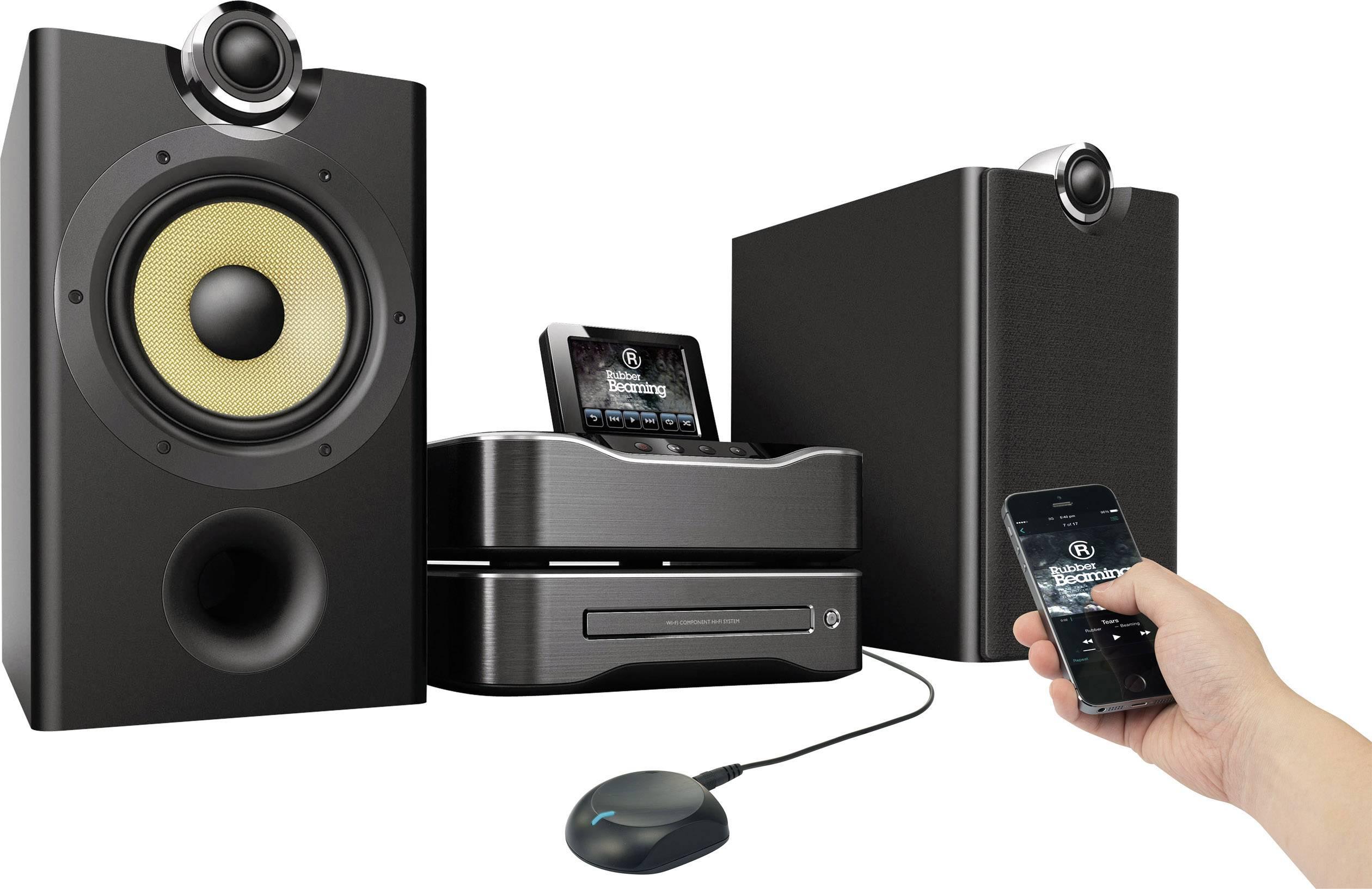 Bezdrôtový zvukový prijímač pre Hi-Fi systémy Renkforce, Bluetooth 3.0