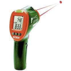 IR teplomer Extech Dvojitý kondenzačný teplotný skener Laser IR Optika 12