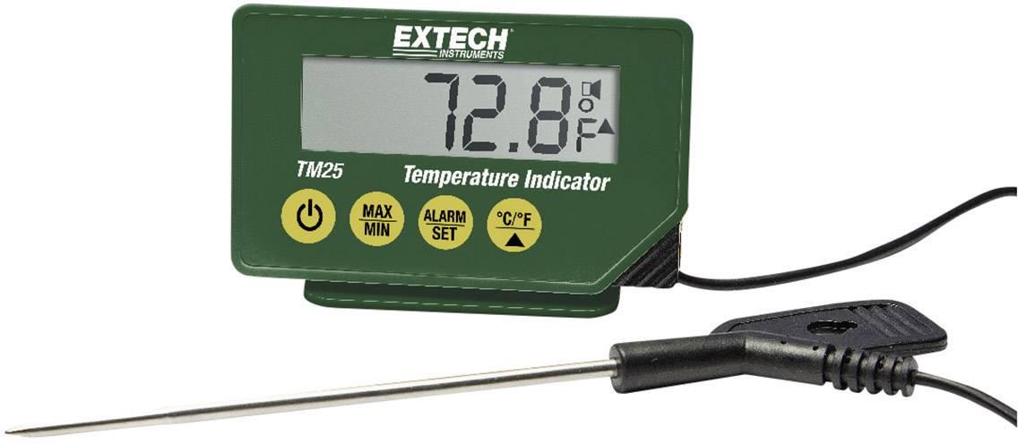 Vpichovací teplomer Extech TM25, -40 až 200 ° C