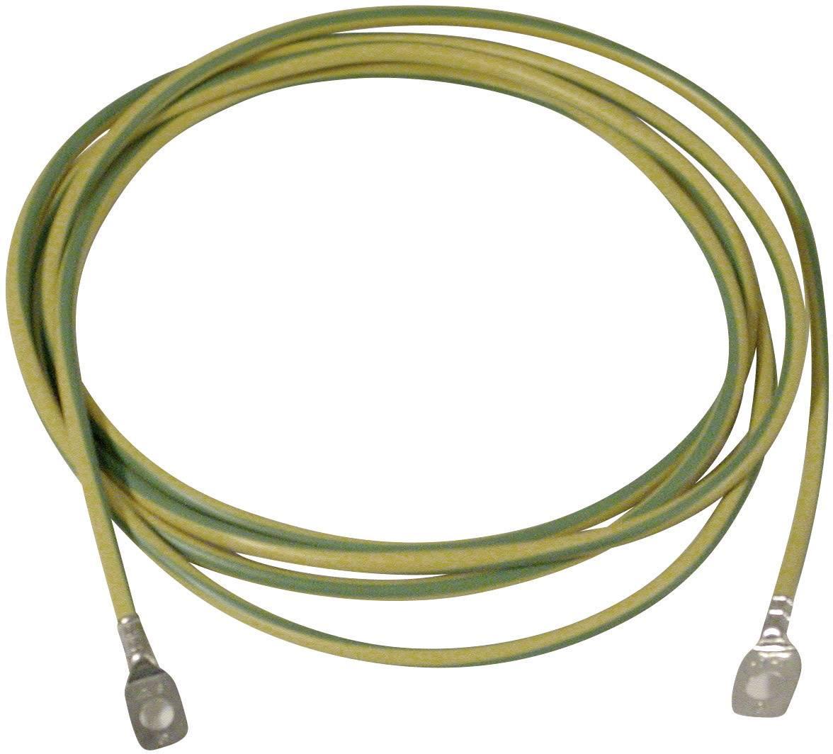 Zemnící kabel PCE Merz, MZ 69227, s koncovkou M8/M10, 3 m