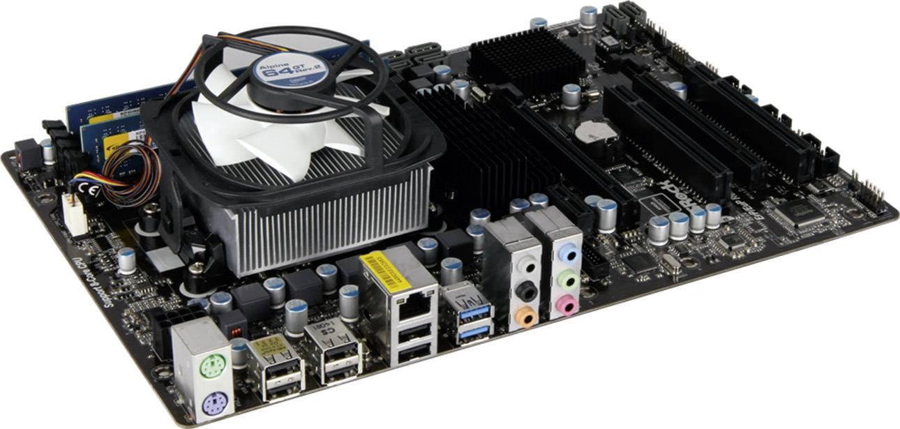 Základní deska s procesorem Renkforce AMD FX-8320, DDR3 8 GB, 8x 3,5 GHz, ATX
