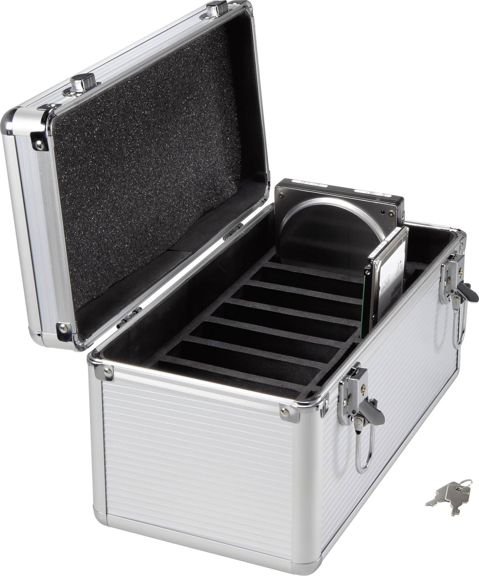 "Kufrík na pevné disky Renkforce, HDB-101, 3,5 "", 310 x 160 x 160 mm"