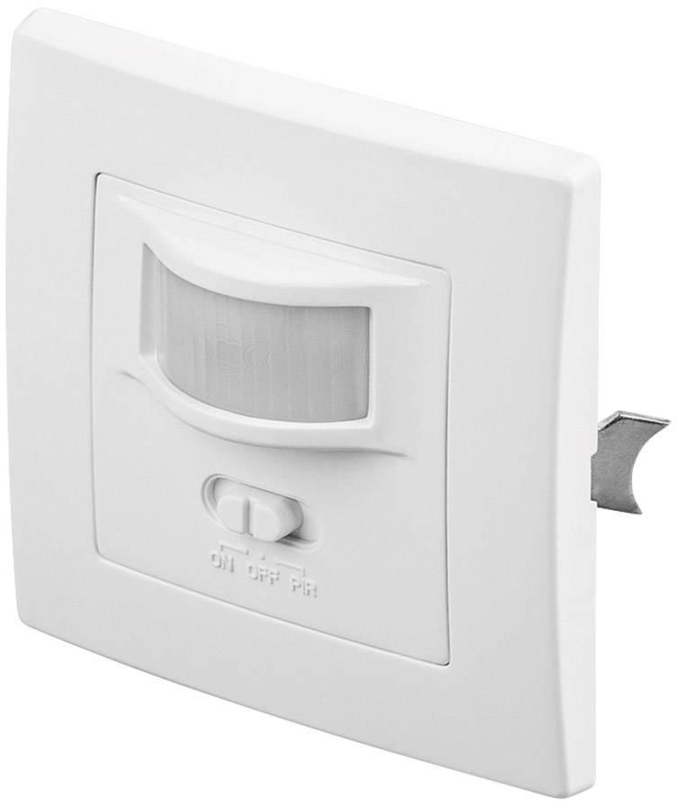 Senzor pohybu PIR Goobay 96005, 160 °, triak, biela, IP20