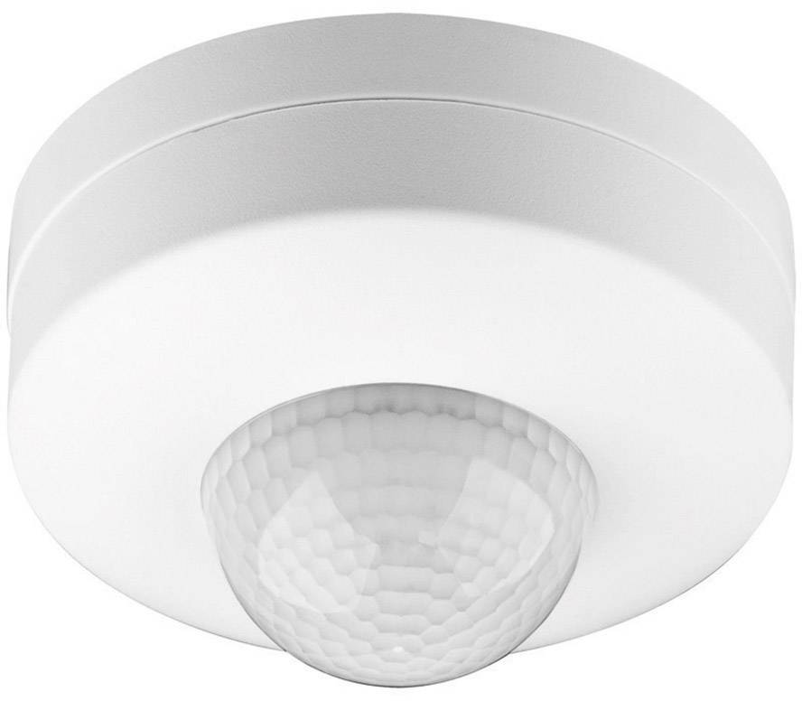 Senzor pohybu PIR Goobay 96007, 360 °, relé, biela, IP20