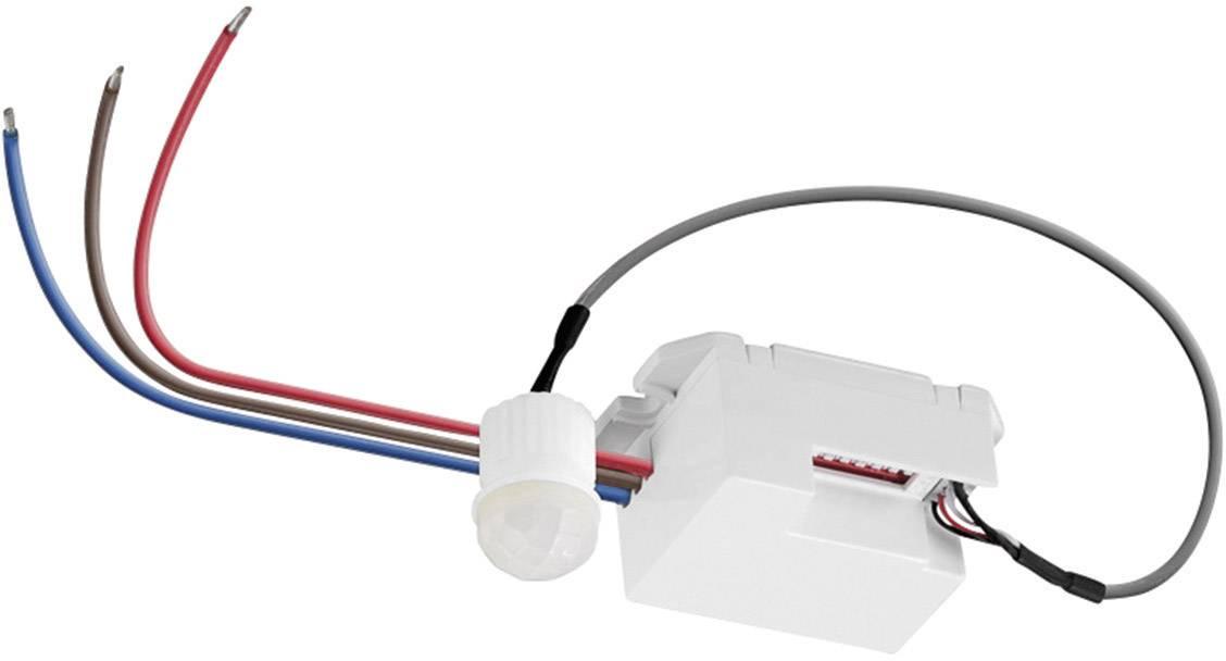 Senzor pohybu PIR Goobay 96006, 360 °, relé, biela, IP20