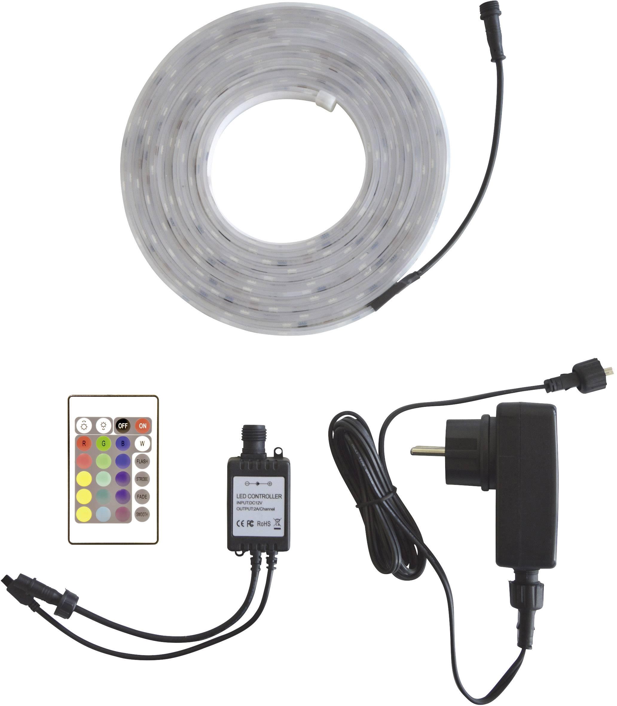 Kompletní sada LED pásků Müller Licht 57030, 12 V, 27 W, RGB, 500 cm