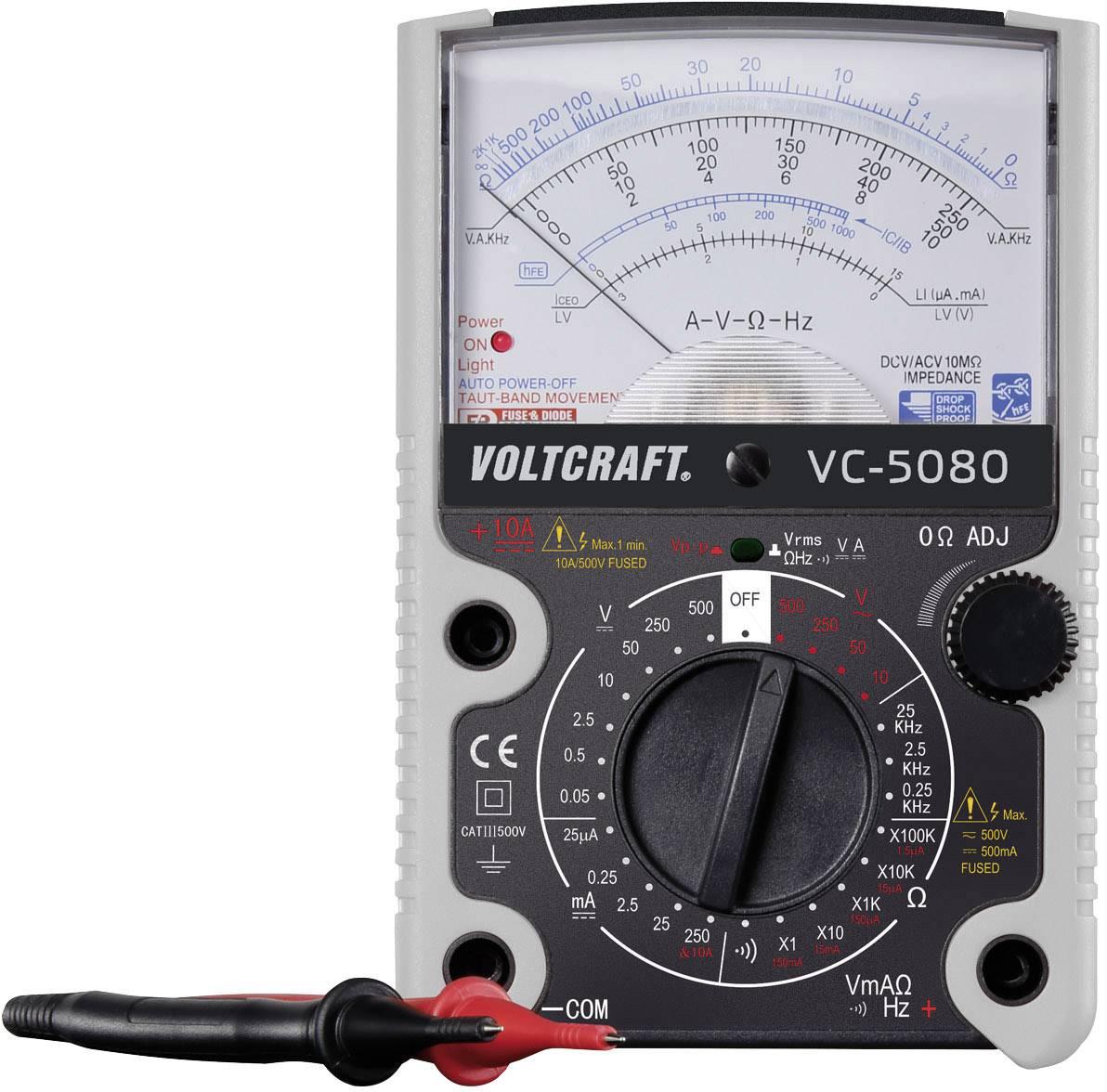 Analógový ručný multimeter VOLTCRAFT VC-5080