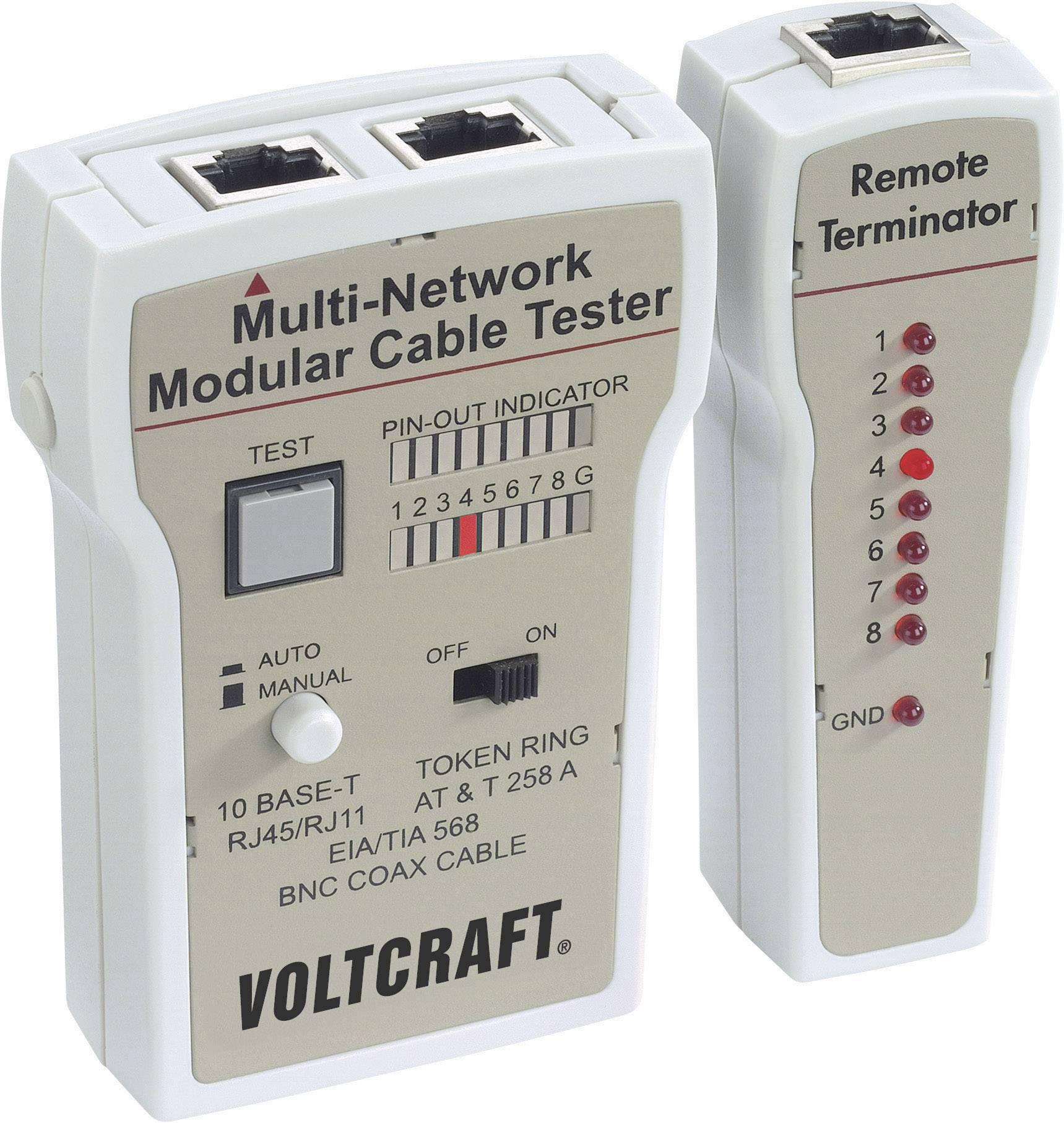 Káblový tester Voltcraft CT-2