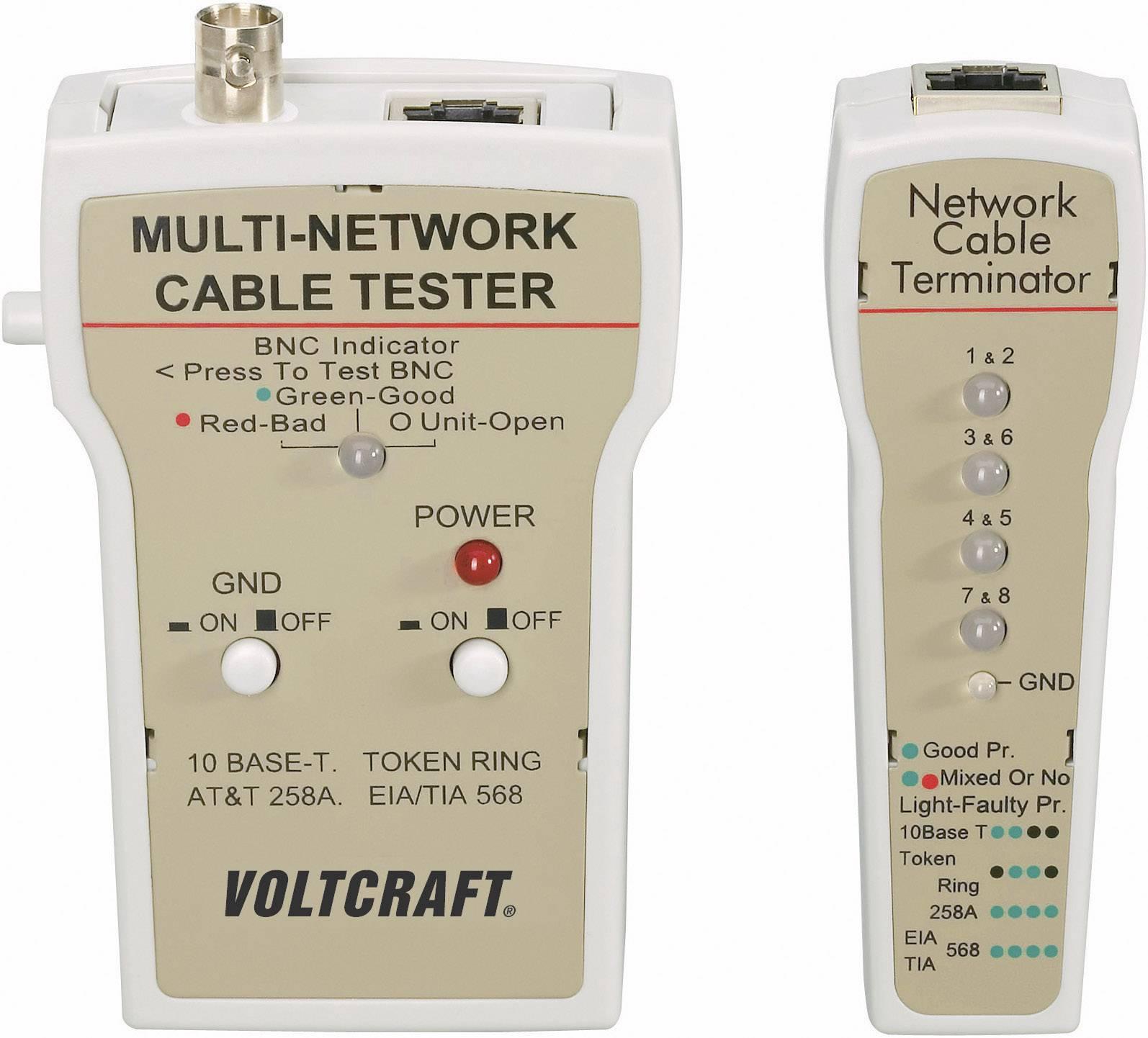 Káblová skúšačka Voltcraft CT-1