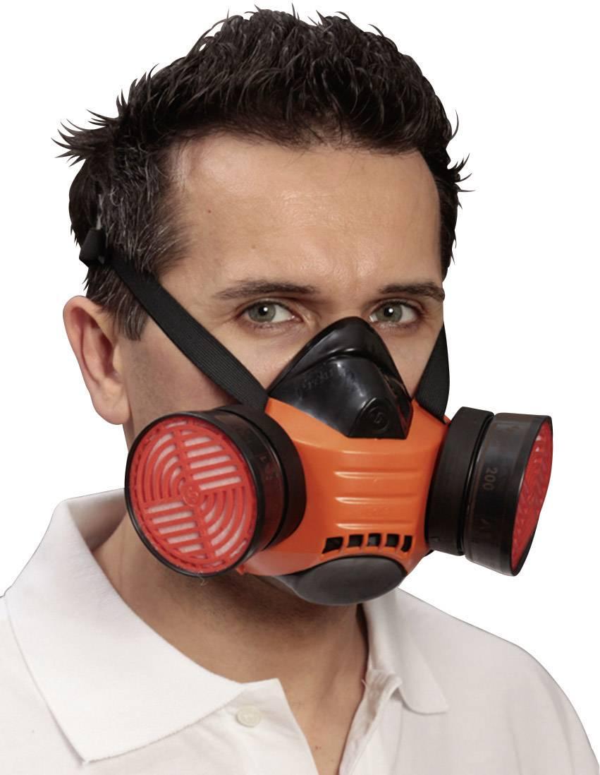 Ochranná maska poloobličejová EKASTU Sekur Polimask BETA 433 506, bez filtru