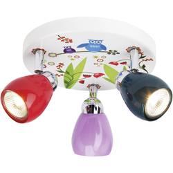 Stropné svetlo sova Brilliant Ptice G56034/72, GU10, 150 W, halogénová žiarovka, farebná