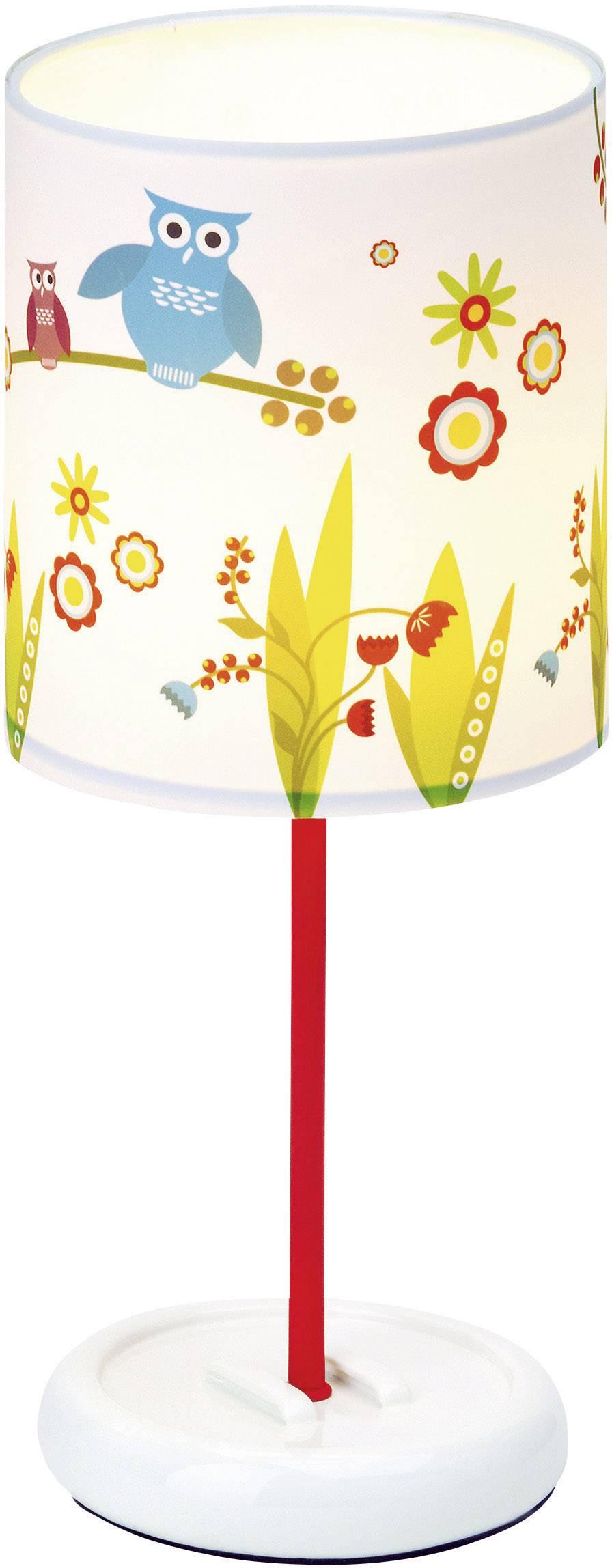 LED stolní lampa Brilliant Birds, LED, barevná
