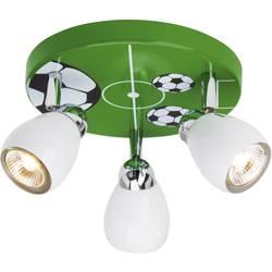 Stropné svetlo Brilliant Soccer G56234/74, GU10, 50 W, halogénová žiarovka, farebná