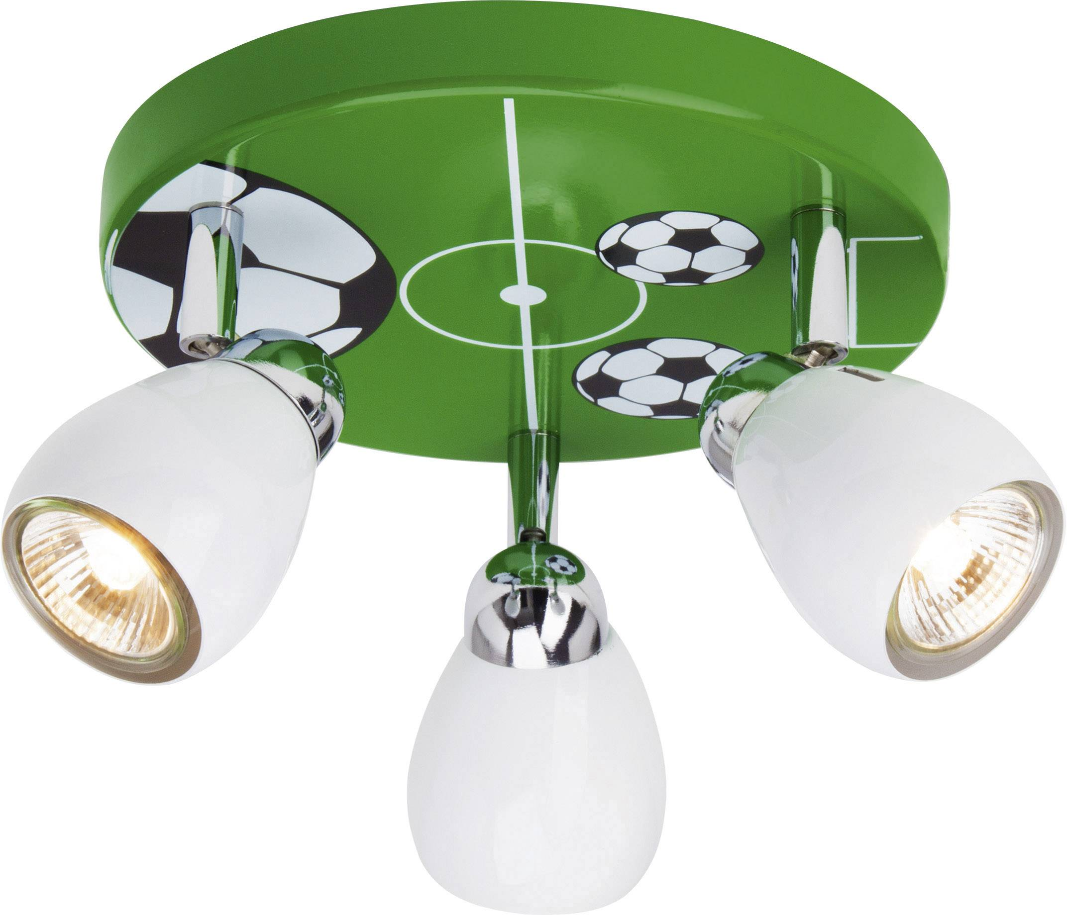 Stropní svítidlo Brilliant Soccer G56234/74, GU10, 50 W, halogenová žárovka, barevná