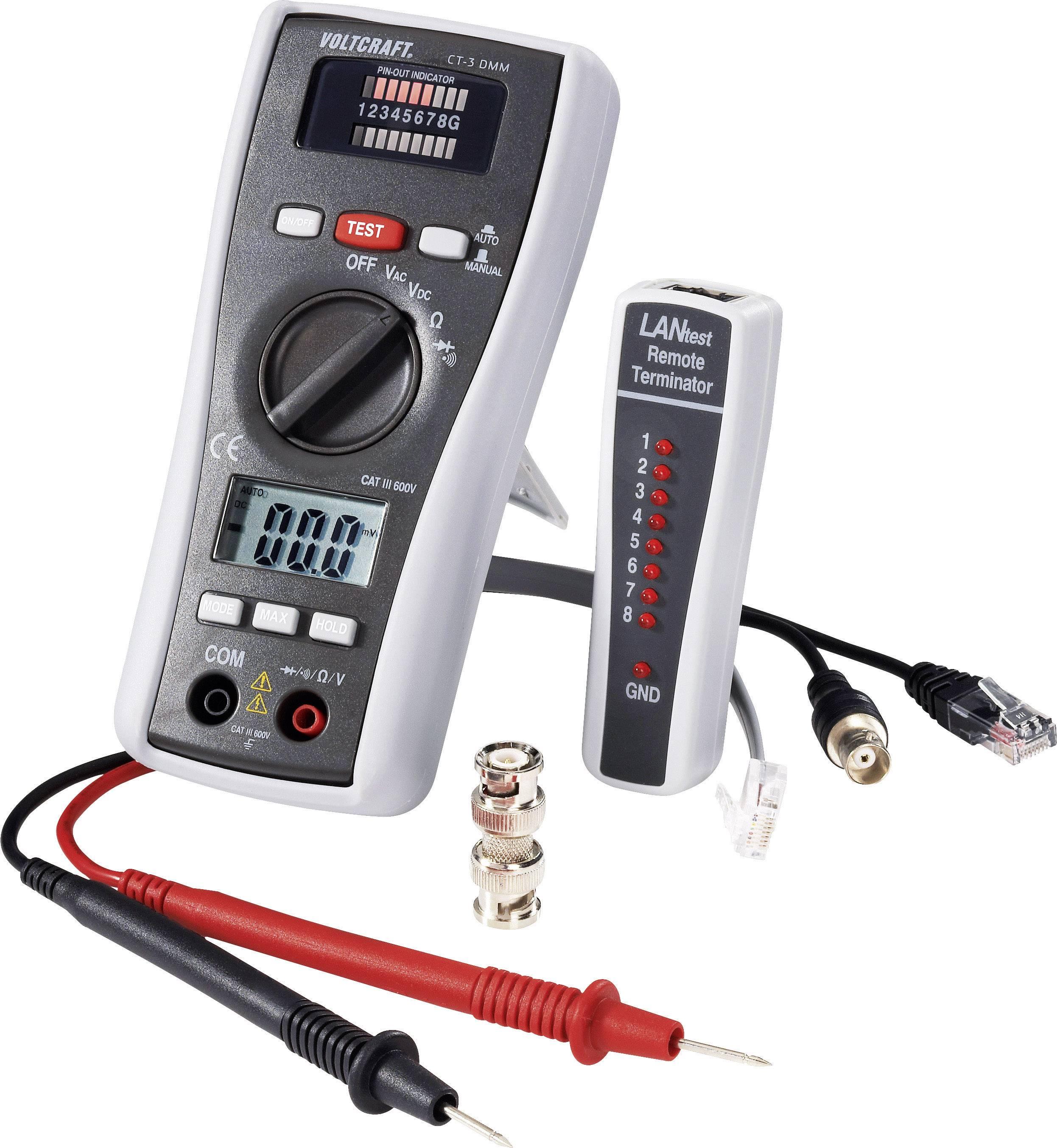Přístroje na testování a zkoušení kabelů