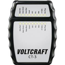 Tester pro HDMI kabely typu A Voltcraft CT-3