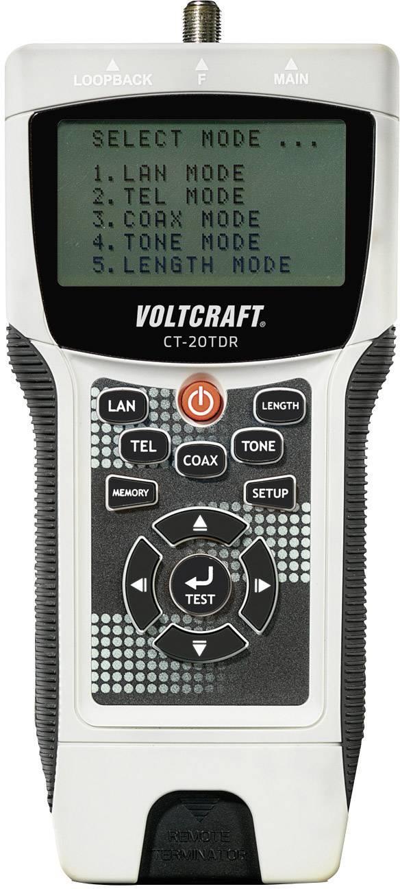 Tester káblov Voltcraft CT-20TDR