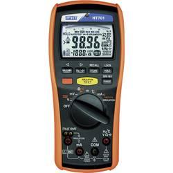 Tester izolací HT Instruments HT701, 50, 100, 250, 500, 1000 V/DC, 0,0 Ω - 40 MΩ, CAT IV 600V / CAT III 1000V, Kalibrováno dle (ISO)