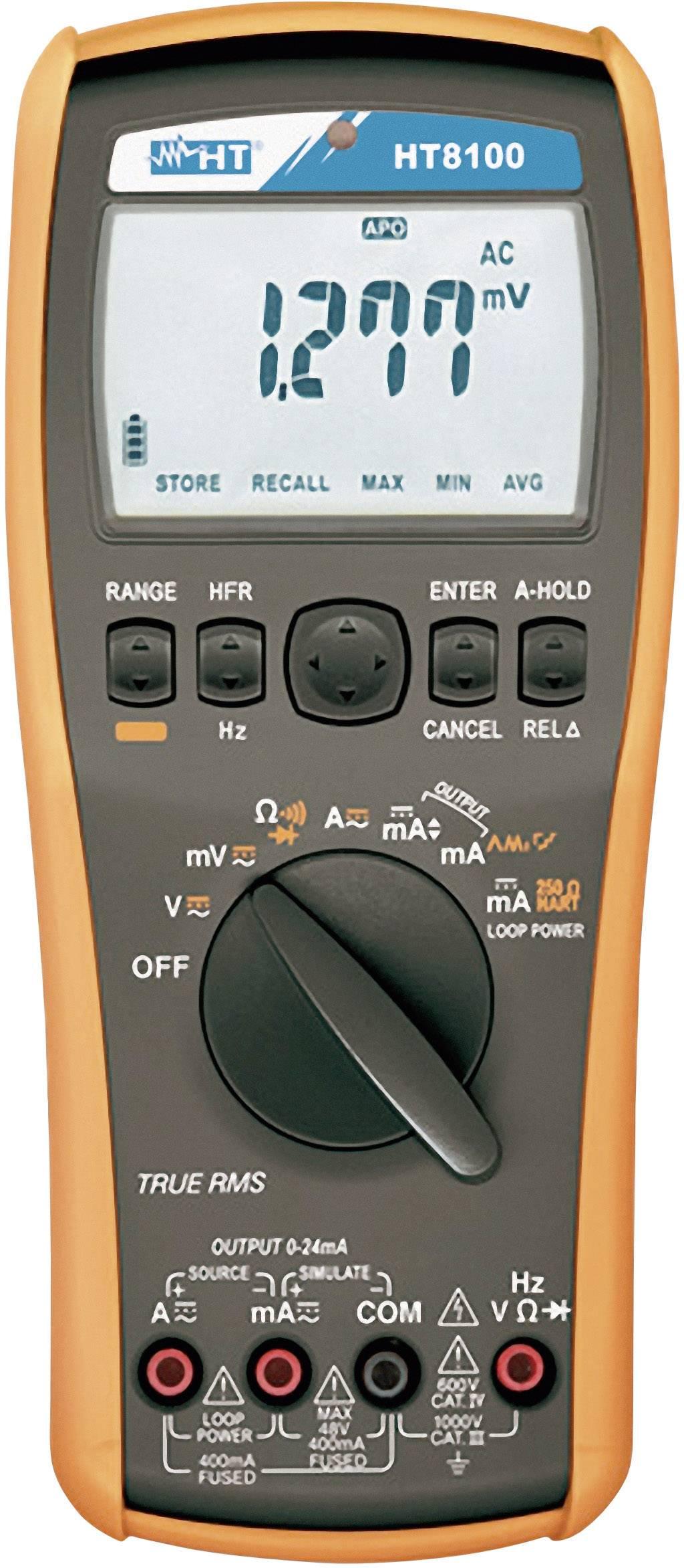 Digitální multimetr s kalibrátorem HT Instruments HT8100, 1009450