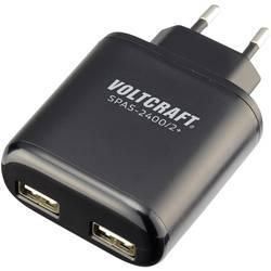 USB síťový adaptér Voltcraft SPAS-2400/2+, 2x 2400 mA