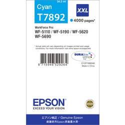 Epson Ink T7892, 79XXL originál azurová C13T789240
