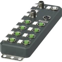 PLC rozširujúci modul Phoenix Contact AXL E PB DIO16 M12 6P 2701499, 24 V/DC