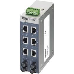 Průmyslový ethernetový switch Phoenix Contact, FL SWITCH SFNT 6TX/2FX ST, 10 / 100 Mbit/s