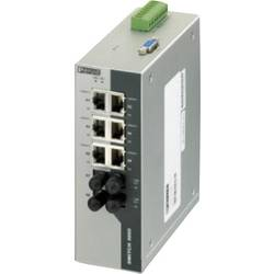 Průmyslový ethernetový switch Phoenix Contact, FL SWITCH 3006T-2FX ST, 10 / 100 Mbit/s