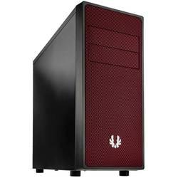 Počítačová skříň Miditower Bitfenix Neos, černá, červená