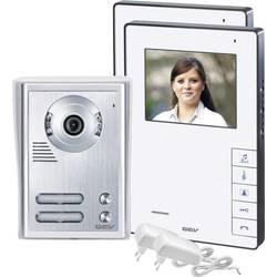 Kabelový domovní telefon GEV CVB 88337 088337, bílá, stříbrná
