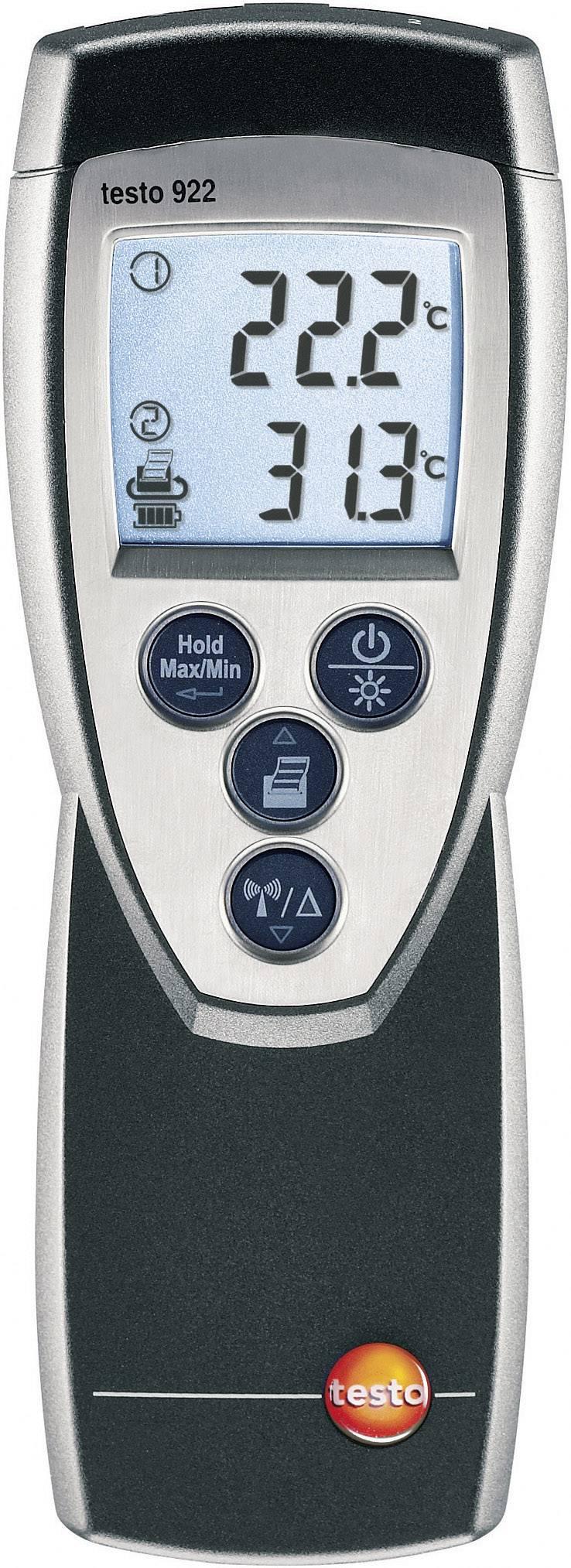 Teplomer testo 922, -50 až +1000 °C, typ K