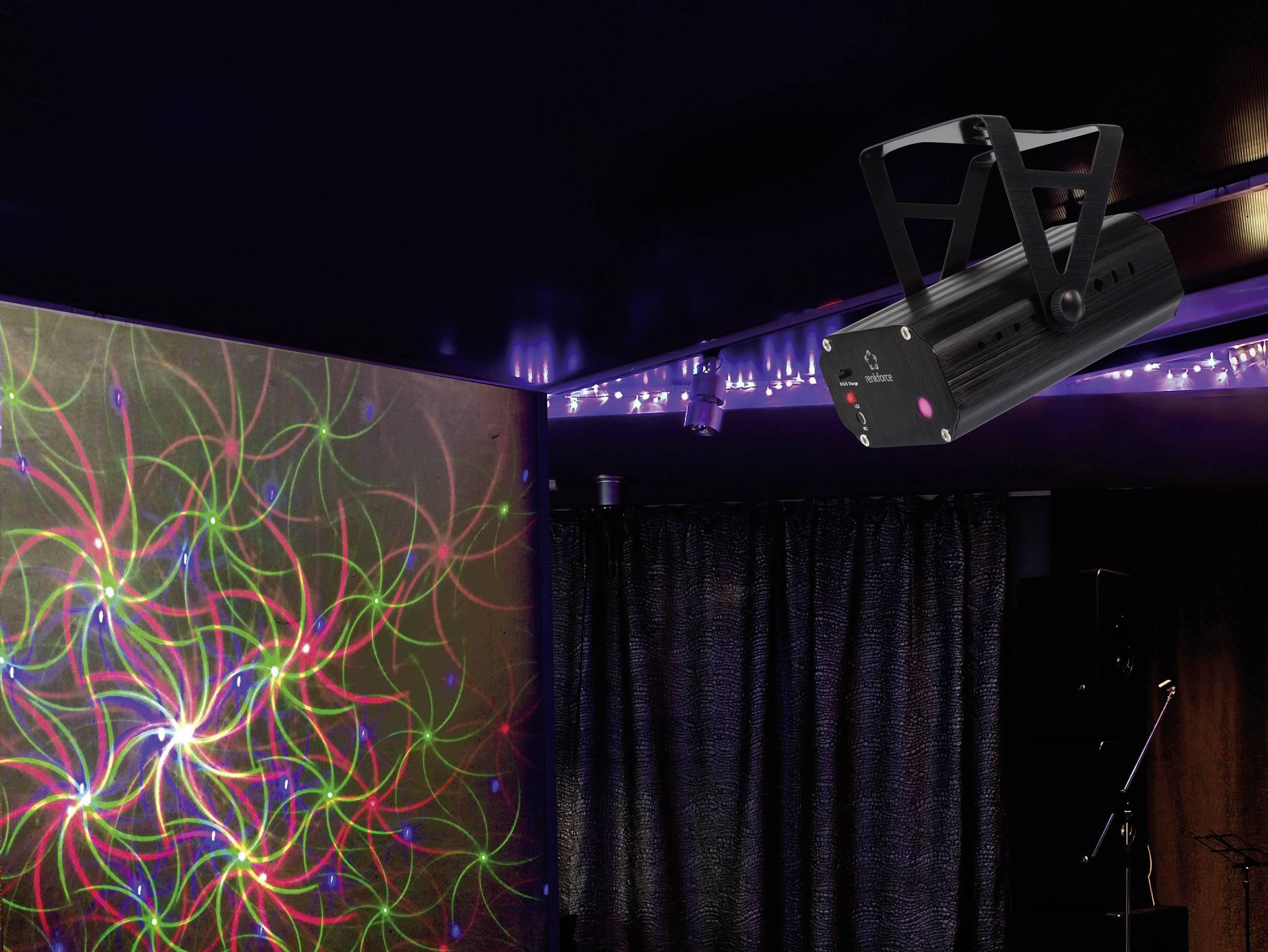 Laserový svetelný efekt Renkforce GLP25
