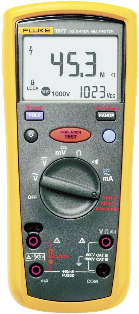 Tester izolací Fluke 1577, 500 – 1000 V, 0 Ω - 600 MΩ, Kalibrováno dle ISO