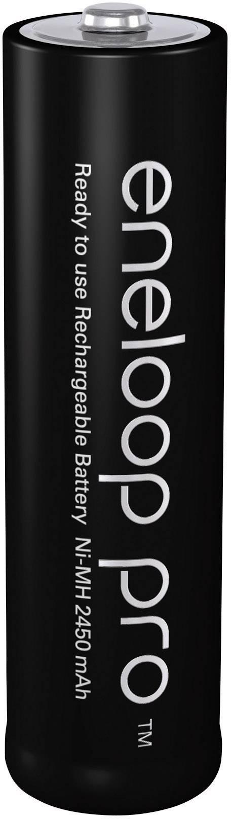 Akumulátor Panasonic eneloop Pro, NiMH, AA, 2450 mAh