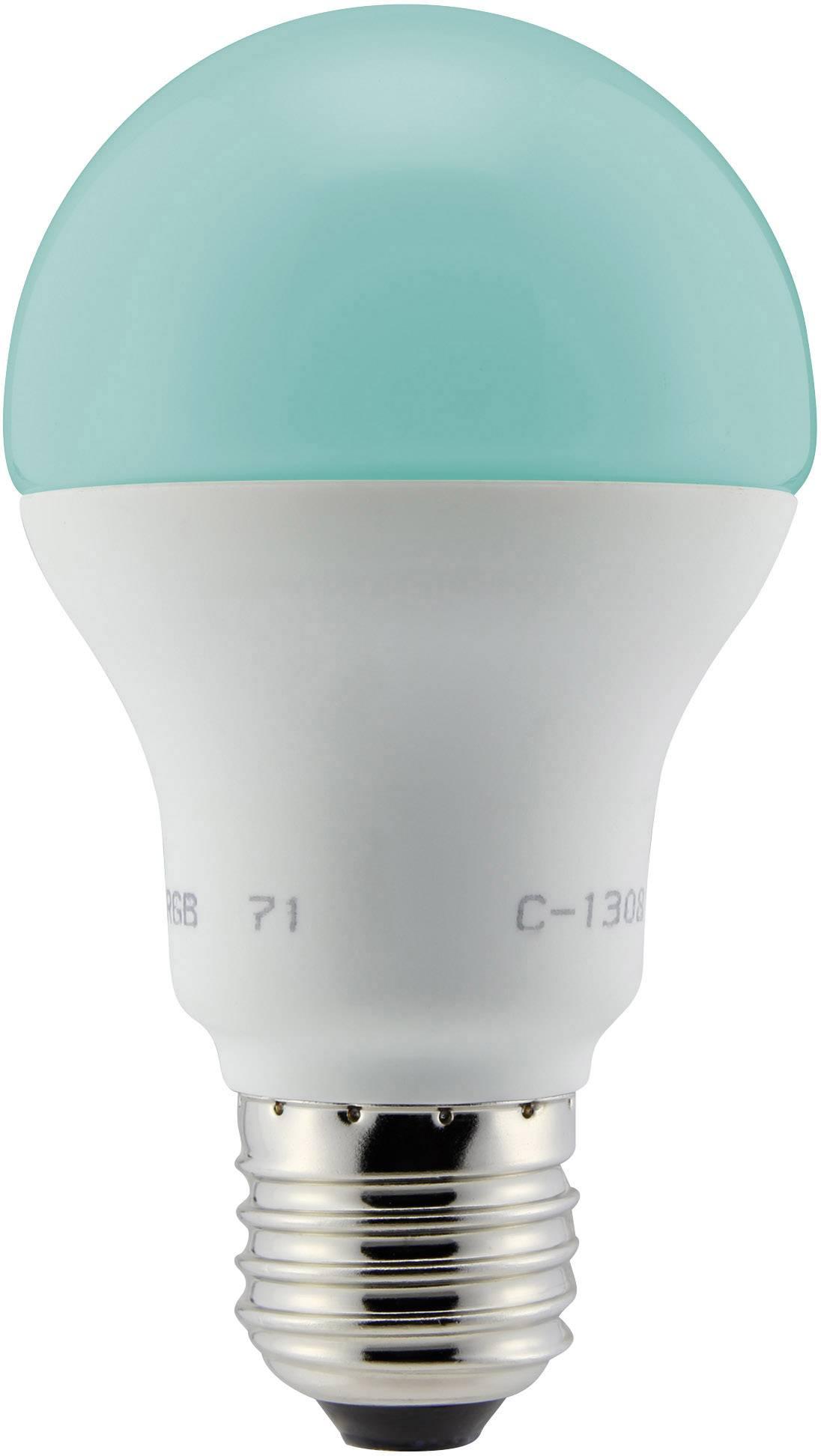 LED (RGB) žiarovka Renkforce E27, 4,8 W
