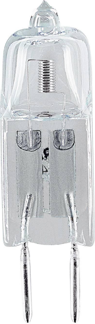 Halogénová žiarovka Sygonix 12 V, G4, 20 W, en.trieda: C, teplá biela, 1 ks