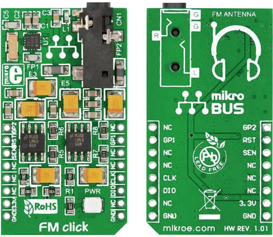 Rozšiřující deska MikroElektronika MIKROE-1431