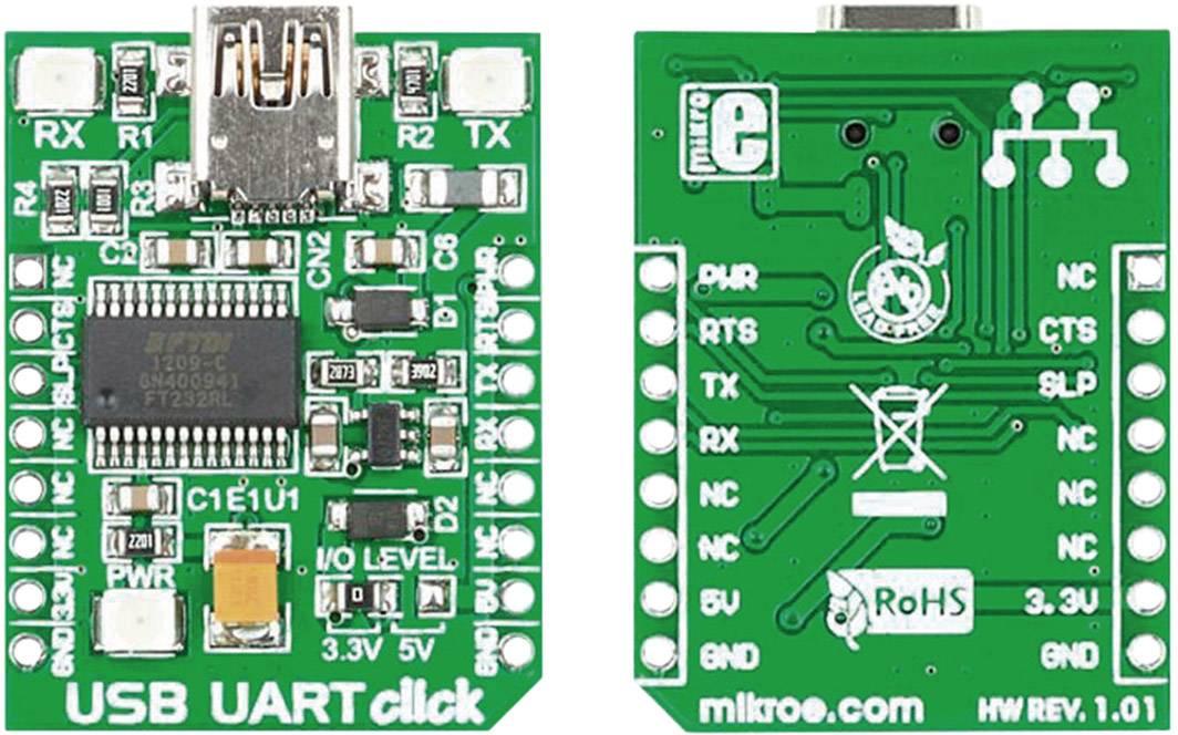 Vývojová doska MikroElektronika MIKROE-1203